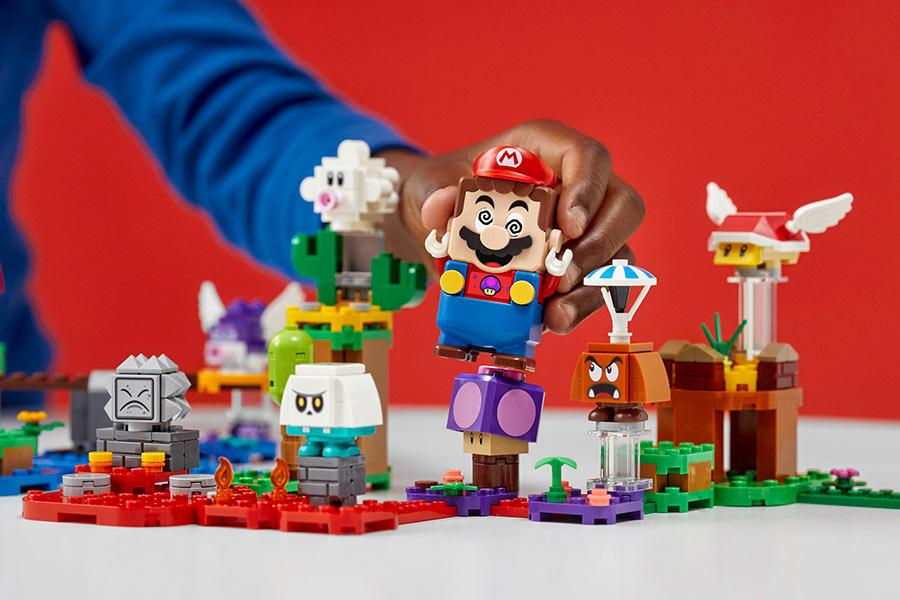 Hamleys玩具城新用户9折!Lego马里奥系列8折、精选买一送一可叠加