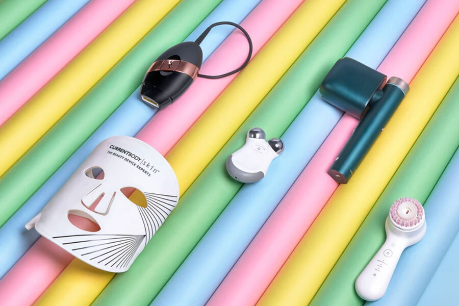 CurrentBody夏促好折:LED面罩买就送护肤套装,NuFACE 7折收!