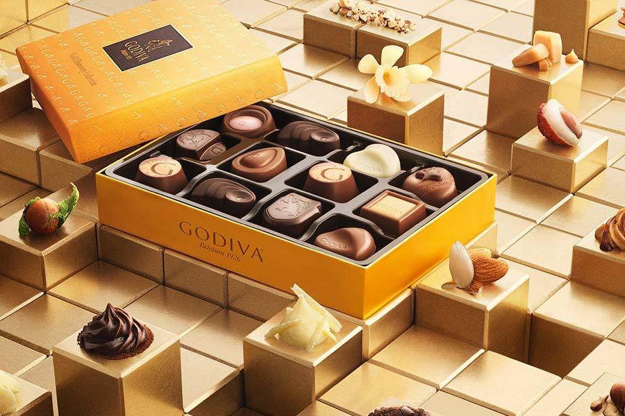 仅两天!Godiva巧克力全场8.5折!套装、礼盒半价可叠加!入手趁现在