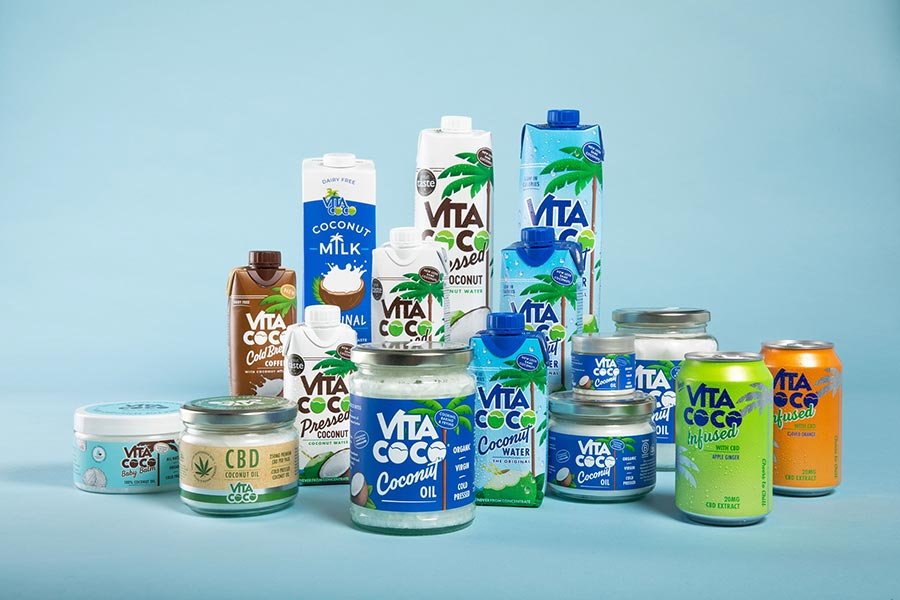 Vita Coco椰子水第二件半价+8折!24瓶只需£20,每瓶85p