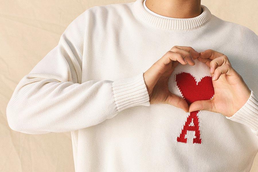 AMI超全折扣指南!低至4折入手小红心T恤、卫衣、毛衣