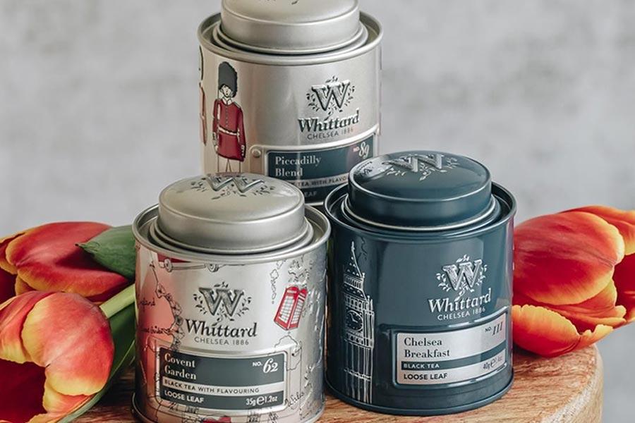 Whittard of Chelsea正价茶饮8.5折!礼盒装、夏日果茶半价入