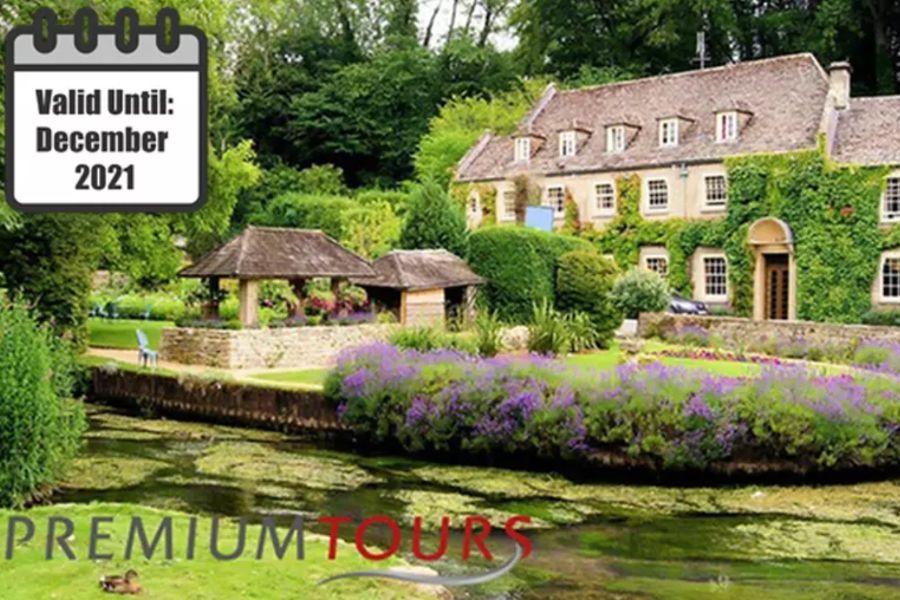 英国最美丽的村庄Cotswolds一日游限时48折优惠!40.8镑起!