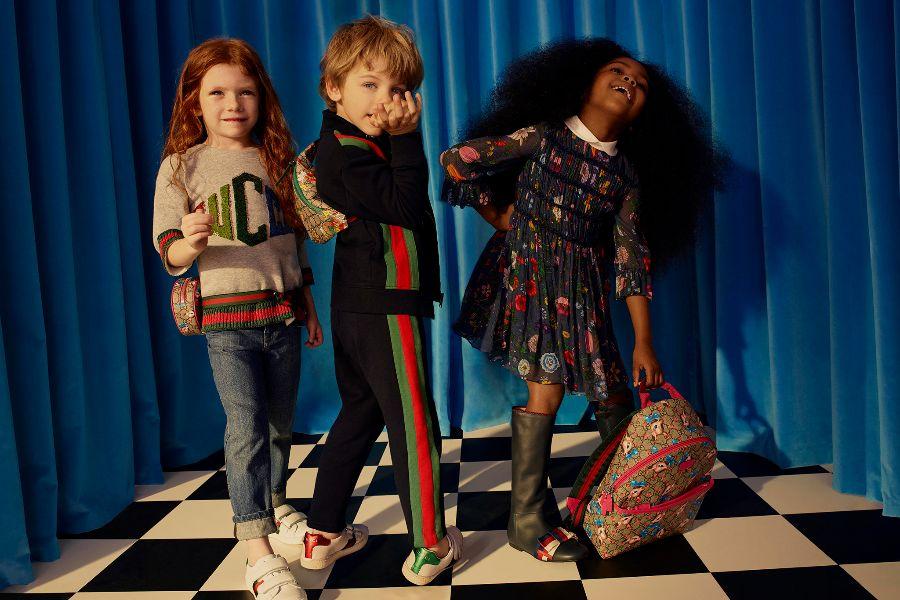 Gucci超可爱大童包包补货,260镑收入超经典老花胸包!