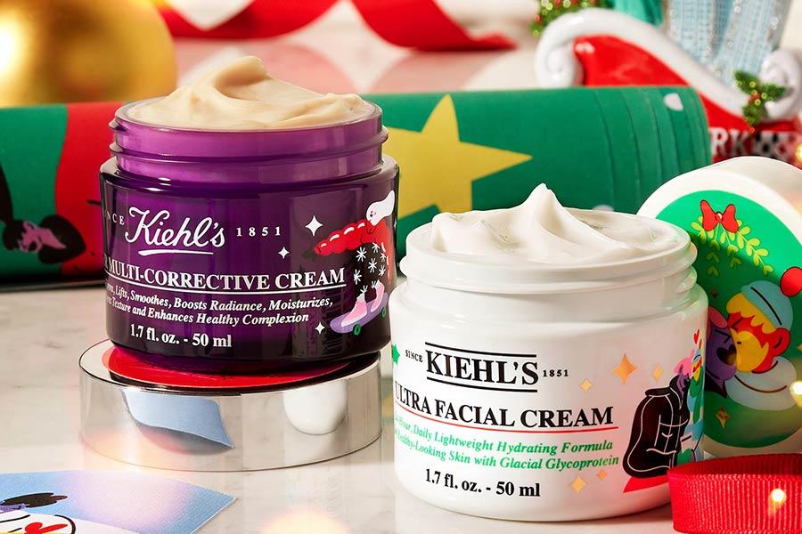 Kiehl's圣诞限量包装买3免1+送6件赠品!6.7折收高保湿面霜、超值套装